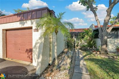 Tamarac Condo/Townhouse For Sale: 6558 NW 98th Ter #B23