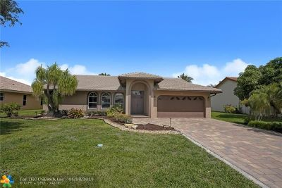 Coral Springs Single Family Home For Sale: 4455 NW 89th Way