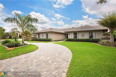 Coral Springs Single Family Home Backup Contract-Call LA: 5414 NW 87th Ter