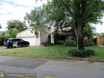Coral Springs Single Family Home For Sale: 220 NW 86th Ter