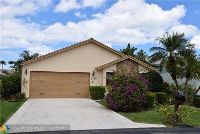 Delray Beach Single Family Home Backup Contract-Call LA: 1315 NW 25th Ln