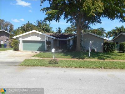 Fort Lauderdale Single Family Home For Sale: 6832 NW 26th Way