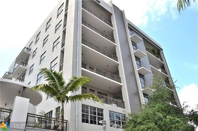 Fort Lauderdale Condo/Townhouse For Sale: 411 NW 1st Ave #503