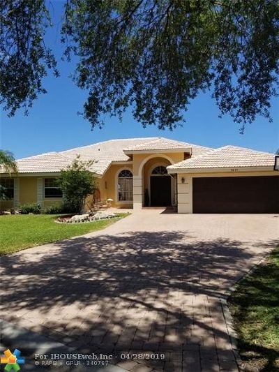Coral Springs Single Family Home For Sale: 5077 NW 103rd Ave