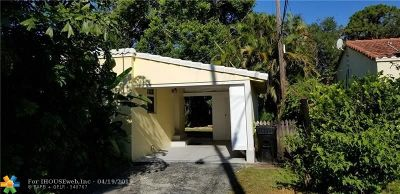 Fort Lauderdale Single Family Home For Sale: 419 NE 16th Ave