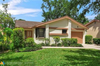 Coconut Creek Single Family Home For Sale: 4405 Cordia Cir