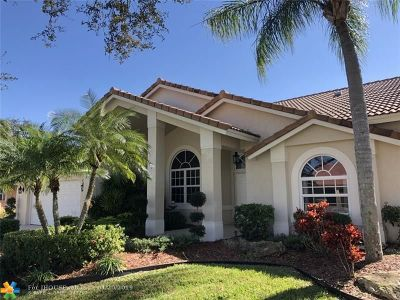 Coral Springs Single Family Home For Sale: 10628 NW 49th Ct
