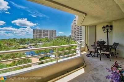 Palm Beach County Condo/Townhouse For Sale: 4201 N Ocean Blvd #407
