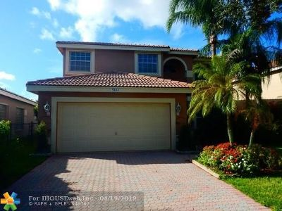 Coral Springs Single Family Home For Sale: 5334 NW 120th Ave