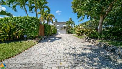Fort Lauderdale Single Family Home For Sale: 2517 Bayview Dr
