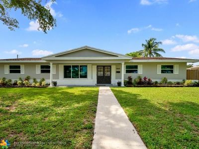 Plantation Single Family Home Backup Contract-Call LA: 7400 NW 13th Ct