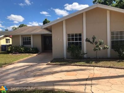 Broward County, Collier County, Lee County, Palm Beach County Rental For Rent: 7716 SW 8th Ct