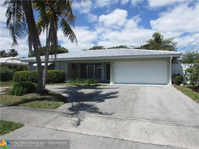 Pompano Beach FL Single Family Home For Sale: $497,000