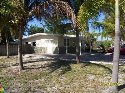 Broward County, Collier County, Lee County, Palm Beach County Rental For Rent: 5348 NE 20th Ave