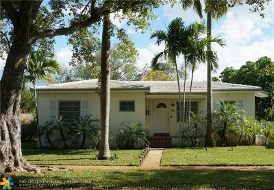 Coral Gables Single Family Home For Sale: 88 Cadima Ave