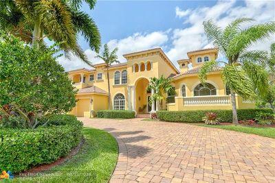 Davie Single Family Home For Sale: 12855 Stonebrook Dr