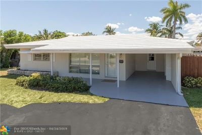 Pompano Beach Single Family Home For Sale: 411 SE 5th Ave
