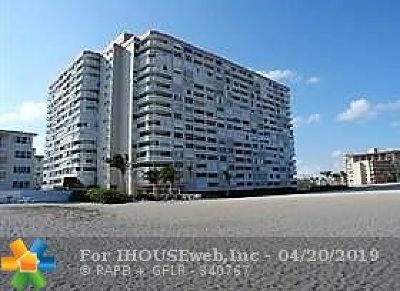 Broward County, Collier County, Lee County, Palm Beach County Rental For Rent: 1012 N Ocean Blvd #211