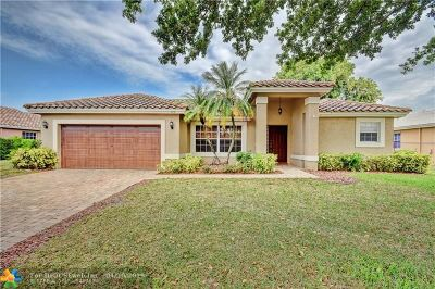 Coconut Creek Single Family Home For Sale: 4291 NW 53rd Ct