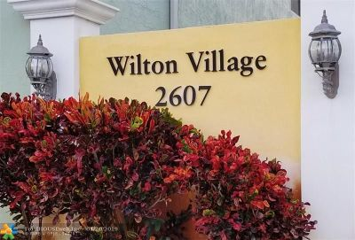 Wilton Manors Rental For Rent: 2607 NE 8th Ave #7