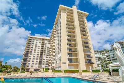 Lauderdale By The Sea Condo/Townhouse For Sale: 1900 S Ocean Blvd #6M