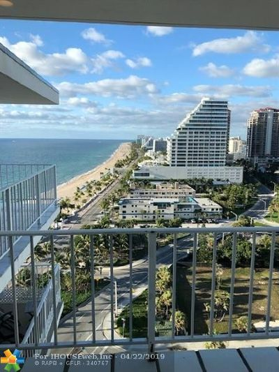 Fort Lauderdale Rental For Rent: 209 N Fort Lauderdale Beach Blvd #17J