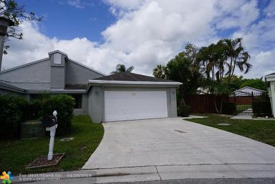 Coconut Creek Single Family Home For Sale: 1991 NW 38th Ter
