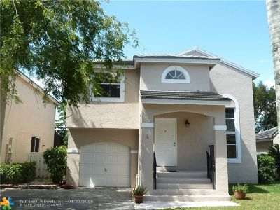 Plantation Single Family Home For Sale: 9851 NW 9 Ct