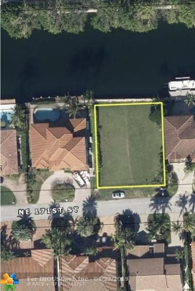 North Miami Beach Residential Lots & Land For Sale: 3383 NE 171 Street