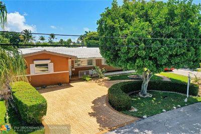 Fort Lauderdale Single Family Home For Sale: 2500 NE 22nd Ter