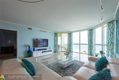 Fort Lauderdale Condo/Townhouse For Sale: 101 S Ft Lauderdale Beach Blvd #1104