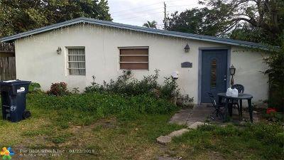 North Miami Beach Single Family Home For Sale: 1628 NE 178th St