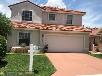Coral Springs Single Family Home For Sale: 11054 NW 46th Dr