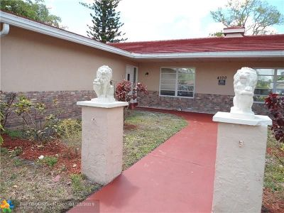 Coral Springs Rental For Rent: 4100 NW 110th Ave #B