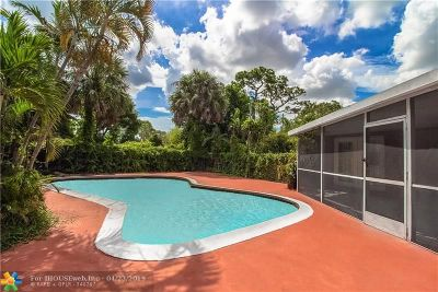 Fort Lauderdale FL Single Family Home For Sale: $289,000