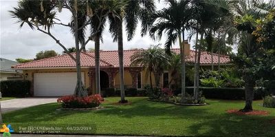 Coral Springs Single Family Home For Sale: 1929 NW 93rd Ter