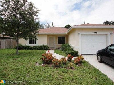 Fort Lauderdale Rental For Rent: 2885 NW 10th Ct