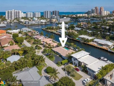 Fort Lauderdale Single Family Home For Sale: 2862 NE 29th St