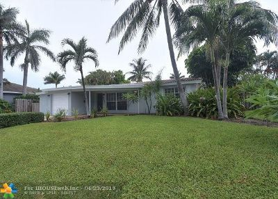 Deerfield Beach Single Family Home Backup Contract-Call LA: 917 SE 16th St