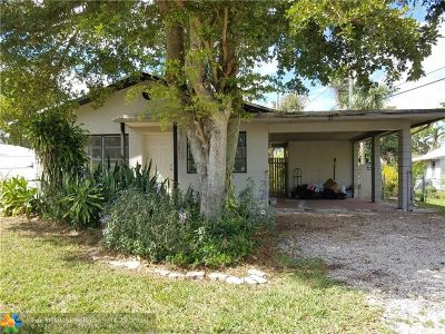 Fort Lauderdale FL Single Family Home For Sale: $295,000