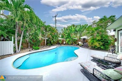Hallandale Single Family Home For Sale: 716 SW 9th St