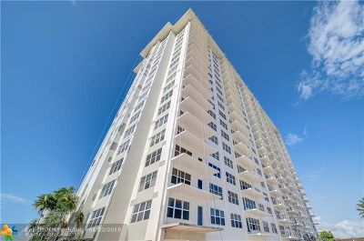 Fort Lauderdale Condo/Townhouse For Sale: 3550 Galt Ocean Dr #809