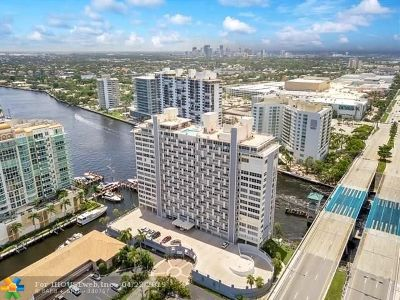 Fort Lauderdale Condo/Townhouse For Sale: 2800 E Sunrise Bl #14E