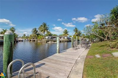 Single Family Home For Sale: 521 SW 18 Street