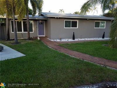 Fort Lauderdale Rental For Rent: 1444 Lauderdale Villa Dr