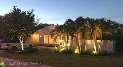Fort Lauderdale FL Single Family Home For Sale: $555,000