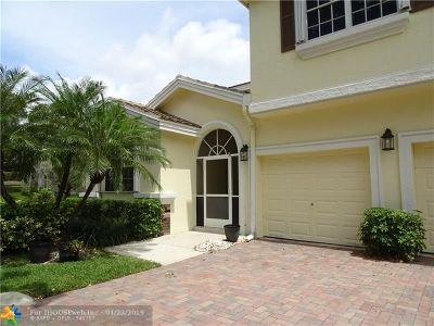 Coral Springs Condo/Townhouse For Sale: 12325 NW 10th Dr #B-6