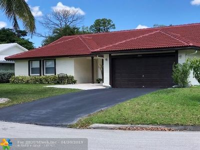 Coral Springs Rental For Rent: 2141 NW 85th Ln