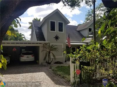 Fort Lauderdale FL Single Family Home For Sale: $590,000