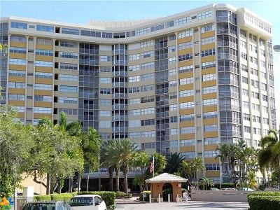 Hallandale Condo/Townhouse For Sale: 100 Golden Isles Dr #201
